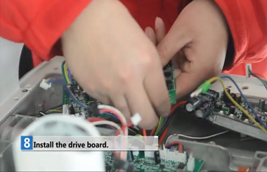 Airwheel S3 Repair Vedio: change control board and drive board
