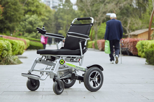 folding wheelchair airwheel H3T